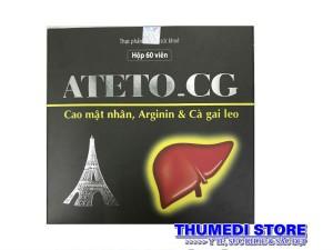 ATETO_CG – Tăng cường chức năng gan, giải độc gan, bảo vệ gan