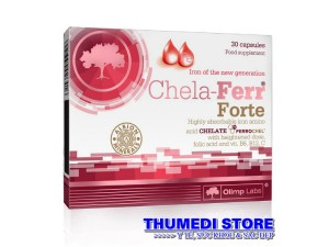 Chela Ferr Forte – Bổ sung sắt cho bà bầu, phụ nữ cho con bú và người thiếu máu