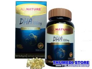 DHA 100mg – Bổ sung DHA cho bà bầu, trẻ em và nhu cầu của người lớn tuổi