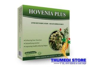 Hovenia Plus – Cách giải rượu, giải độc gan, hỗ trợ chức năng gan, thanh lọc cơ thể
