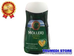 Moller's Dobbel – Thuốc bổ giàu Omega 3 tự nhiên tốt cho bà bầu, người cao tuổi