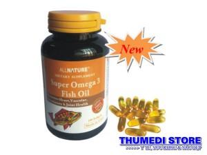 Super Omega 3 Fish Oil – Dầu cá omega 3 tốt cho tim mạch, sáng mắt, chống lão hóa
