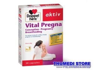 Vital Pregna – Thuốc bổ cho bà bầu, bổ sung dưỡng chất thiết yếu cho bà bầu