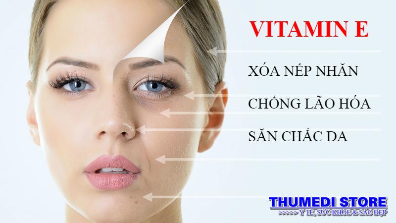 Vitamin E chống lão hóa da. THUMEDI STORE