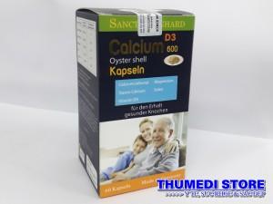 Calcium 600 D3 Oyster shell – Bổ sung canxi hiệu quả cho bà bầu, người cao tuổi