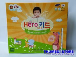 Hero Kid Gold – Giúp trẻ tăng trưởng chiều cao, ăn ngon, tăng cường miễn dịch