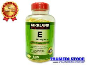 Vitamin E 400 IU – Giúp làm đẹp da, ngăn ngừa và làm chậm quá trình lão hóa da
