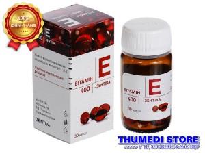Vitamin E Zentiva 400 – Cách làm đẹp da, ngăn ngừa lão hóa, chống khô da