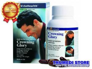 Crowning Glory – Chăm sóc tóc, chống khô, rụng tóc giúp mọc tóc