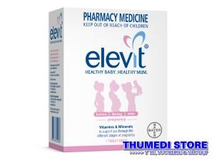 Elevit – Thuốc bổ tổng hợp cho phụ nữ trước, trong và sau khi mang thai