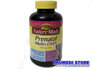 Prenatal Multi DHA – Vitamin tổng hợp cho bà bầu, Xuất xứ USA