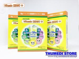 Vitamin Genki + Sản phẩm hỗ trợ trẻ ăn ngon, tăng cường sức khỏe